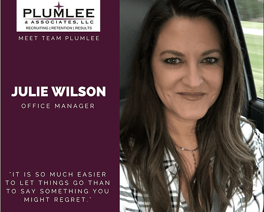 Meet the Team: Julie Wilson, Operations Manager & Executive Recruiter
