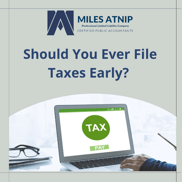 Filing Taxes Early
