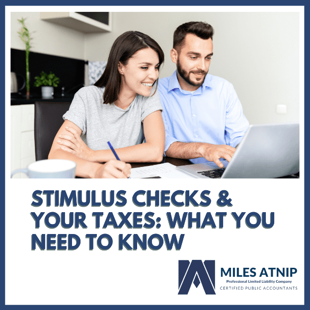 Stimulus Checks and Taxes