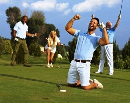 Swing Into Recovery with Golf