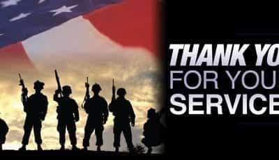 Thank You For Your Military Service